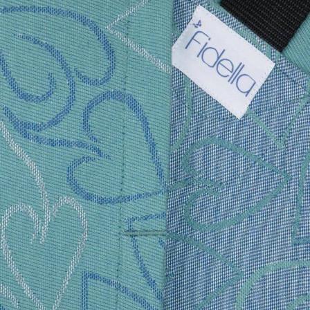 Fidella Fusion Amors Love Arrows éclat vert porte-bébé