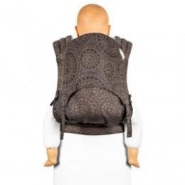 Fidella Fly Tai - Mei Tai Baby Carrier Mosaic mocha brown Toddler