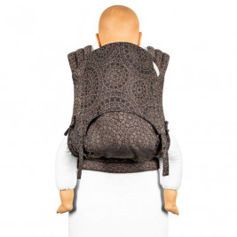 Fidella Fly Tai - Mei Tai Baby Carrier Mosaic mocha brown Toddler