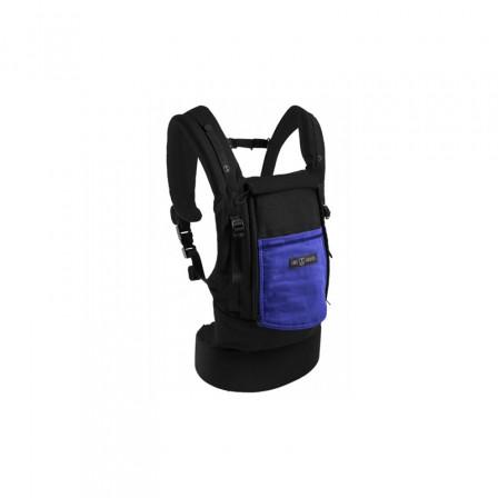 JPMBB PhysioCarrier Cotton Black pocket Blue