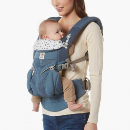 Ergobaby Omni 360 Cool Air Mesh Navy Starry - carrier Expandable 4 Positions