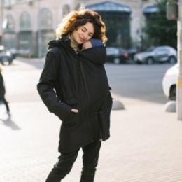 Love and Carry Parka 4 en 1 de portage et de grossesse