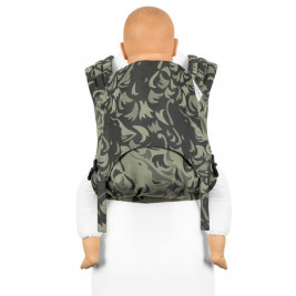 Fidella FLY TAI - MEI TAI BABY CARRIER - Wolf  Green - TODDLER