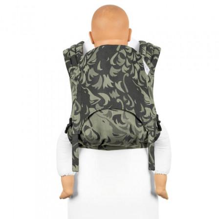 Fidella Fly Tai Wolf Vert porte-bébé meï-taï taille bambin 9m+
