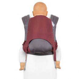 Fidella Fly Tai Lignes Rouge porte-bébé meï-taï taille bambin 9m+