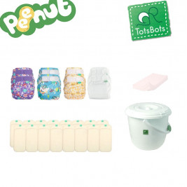 Totsbots Pack complet couches lavables TE2 PeeNut