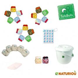Tots bots max Pack reusable nappies - birth to potty