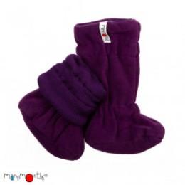 Manymonths Chaussons de portage d'hiver en laine Merinos/Polaire