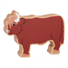 Vache écossaise en bois Lanka Kade