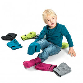 Mamalila Cosy Booties - Chaussons de Portage en Softshell et Polaire