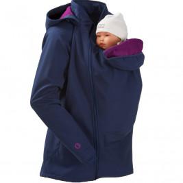 Mamalila Softshell Babywearing Jacket Sweet Fifteen Navy Pink