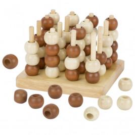 Goki Tic Tac Toe 3D (Morpion) - Jeu de société en bois