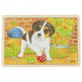 Goki Puzzle petit chien