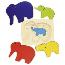 Goki Puzzle Éléphant