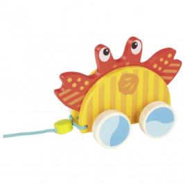 Goki Animal à tirer crabe