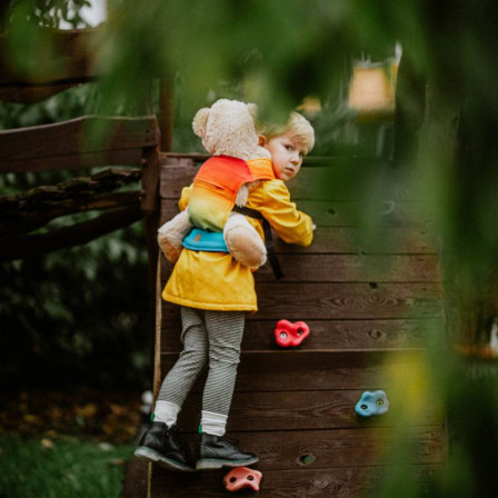 Lennylamb Rainbow Baby Porte-poupée