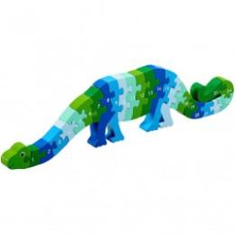 Puzzle Dinosaure 1-25 en bois Lanka Kade