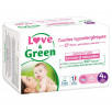 Love and Green disposable diapers size 4+ (9 to 20 kg)