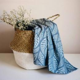 Limas  Valerie Dark Mint - woven wrap organic cotton 460 cm