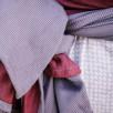 Fidella Lines Rouge écharpe de portage 460 cm taille 6