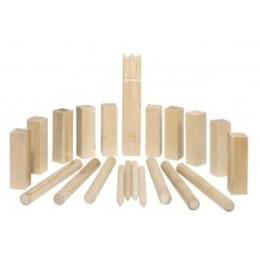 Kubb, jeu d'echecs vikings en bois modèle moyen