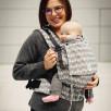 Limas Flex Sunshine Monochrome baby carrier