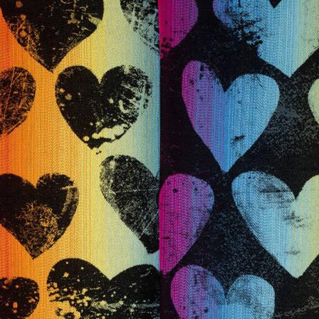 Lennylamb Lovka Rainbow Dark - Écharpe de portage jacquard