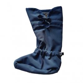Manymonths slippers portage Bootie Softshell Black/ Rock Grey