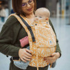 Limas Flex Sweet Honey porte bébé physiologique en coton bio