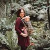 Limas Flex Pava Honey Moon porte bébé physiologique en coton bio