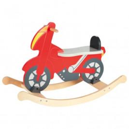 Goki Moto à bascule en bois chevalier