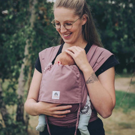 Limas Baby Carrier Blush porte bébé physiologique en coton bio