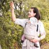 Limas Plus Beige porte bébé physiologique en coton bio