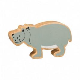 Hippopotame en bois Lanka Kade