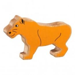 Lionne en bois Lanka Kade