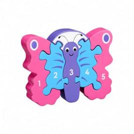 Puzzle Papillon 1-5 en bois Lanka Kade