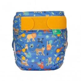 Totsbots couche lavable TE1 Easyfit Star V5 Cobalt Big Cats