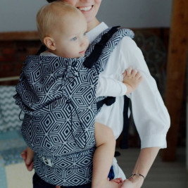 Little Frog XL Toddle carrier Sandy Pines