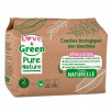 Love and Green Pure Nature Pack 6x35 Couches jetables taille 2 (3 à 6 kg)