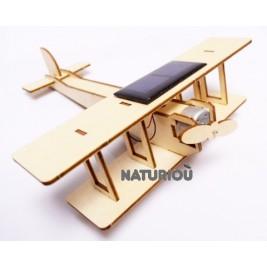Biplan solaire en bois