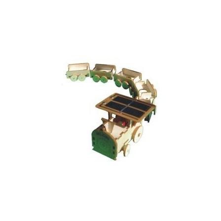Maquette petit train solaire Héliobil