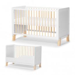 KinderKraft Nico - Lit bébé évolutif en bois