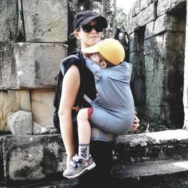 LLA Baby carrier P4 Preschool Eucalyptus