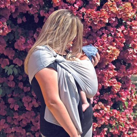 Sukkiri baby Sling Grey