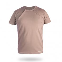 T-shirt de portage Naturiou - Cappuccino