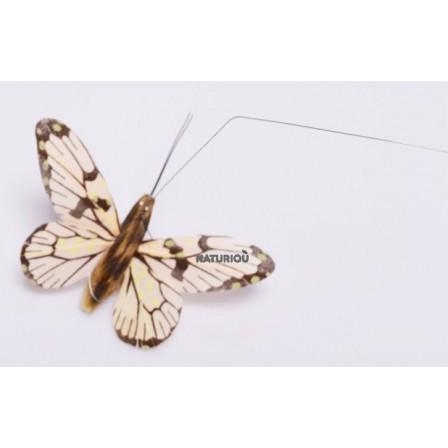 Papillon solaire Héliobil jaune