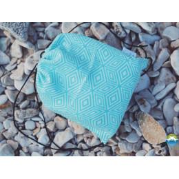 Little Frog Sac de rangement Turquoise Cube bag