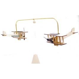 Deux biplans solaires Héliobil