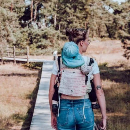 Limas Flex en tissu Didymos – EBW 2021 En sécurité dans mes bras