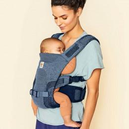 Ergobaby porte-bébé Aerloom Bleu océan portage ventral